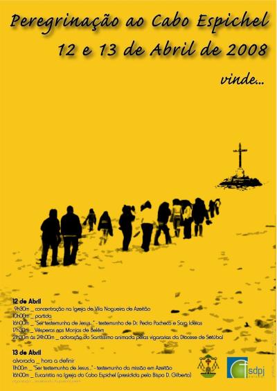Cartaz da Peregrinação ao Cabo Espichel