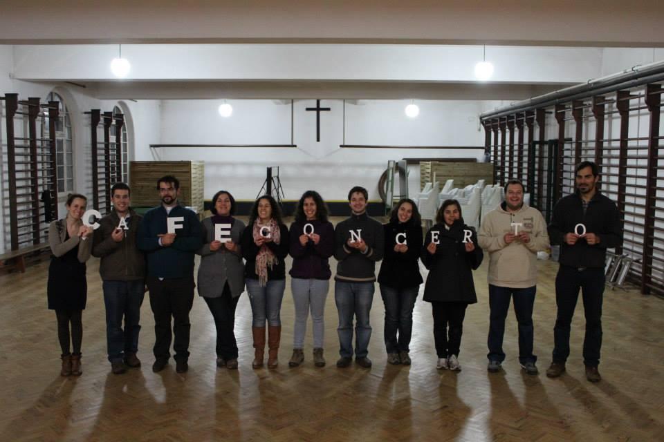 Equipa de animadores da Pastoral da Juventude da Diocese de Setúbal 2013/2014