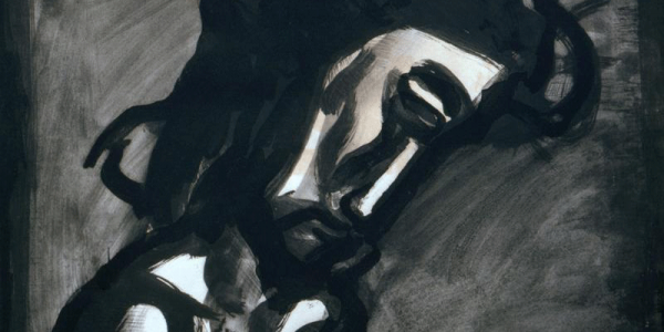 Georges Rouault, Jesus reviled, 1922-1927