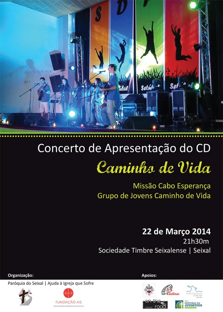 Concerto de Apresentação do CD Caminhos de Vida