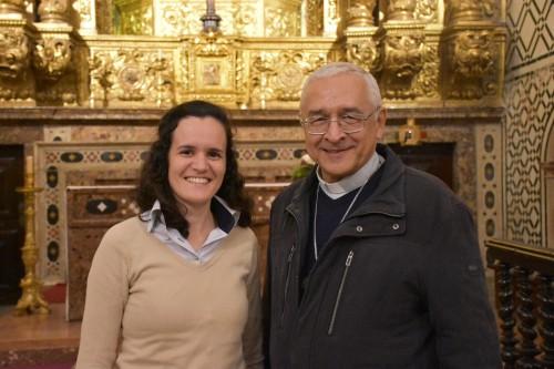 Inês e D. José Ornelas